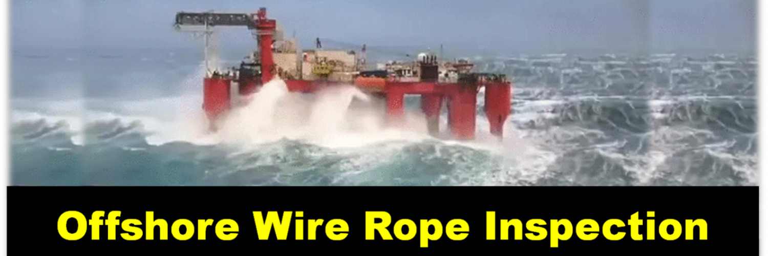 Offshore Wire Rope Inspection Video